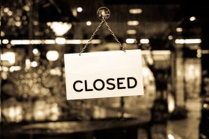 Closed Business Bankruptcy or ABC